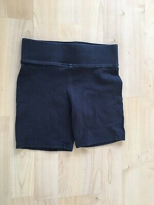 Girls / Boys Unisex Navy Blue School PE shorts. 5-6 Years Marks And Spencer M&S