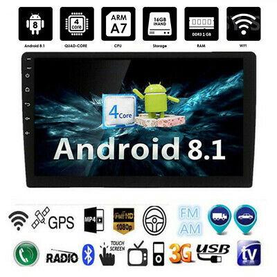 Single-1-Din-Android-8-1-10-Car-Stereo-Radio-GPS-WiFi-BT-DAB-Mirror-Link-OBD-uk