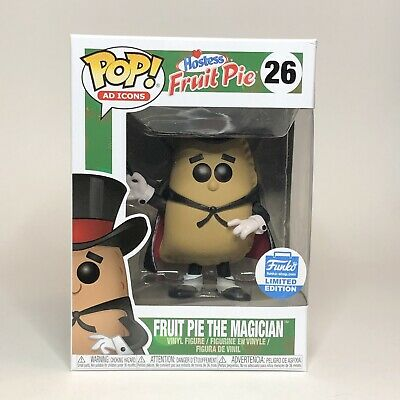 Funko Pop Ad Icons Fruit Pie The Magician Funko Shop Exclusive With Protector