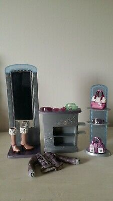 Barbie My Scene Doll Part Icy Bling Boutique Shop Furniture Mirror Accessories