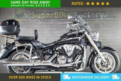 2015 15 Yamaha Xvs1300 Midnight Star - Nationwide Delivery, Used Motorbike.