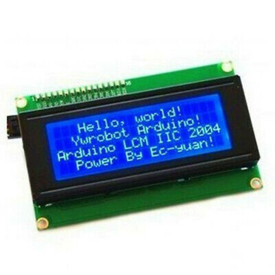 5V Module Shield Display IIC I2C TWI Serial LCD 2004 20x4 Parts Durable 60x99mm