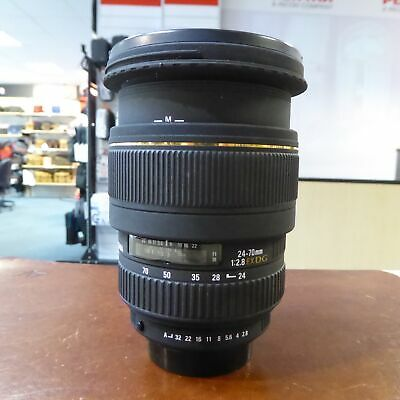 Used Sigma EX DG 24-70mm f2.8 lens in Pentax fit - 1 YEAR GTEE