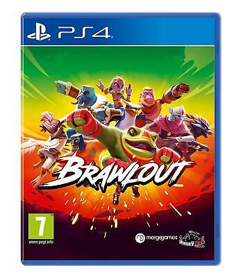 Brawlout PS4 Playstation 4 Brand New/Sealed UK PAL Quick Dispatch