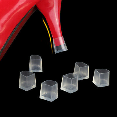 1-5 Pair Clear Wedding High Heel Shoe Protector Stiletto Cover Stoppers .AE