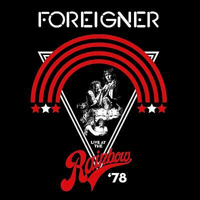 FOREIGNER LIVE AT THE RAINBOW '78 CD (Released JULY 12th 2019)