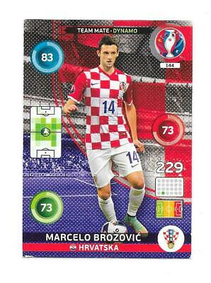 Carte adrenalyn panini - Euro 2016 - XL N°144 - Croatie - Marcelo Brozovic