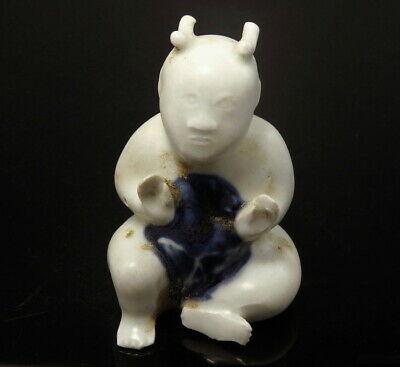 Ca Mau Shipwreck Blue & White Glazed Porcelain Figure (M562)