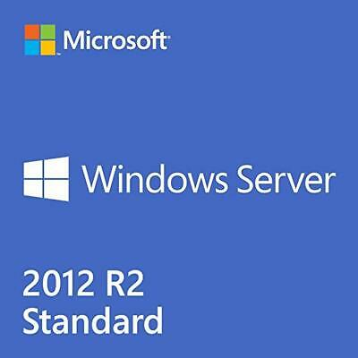 MS WINDOWS SERVER 2012 STANDARD R2 Full Version License