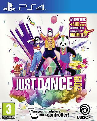 Just Dance 2019 PS4 Game for Sony Playstation 4 - New and Sealed - Free UK P&P