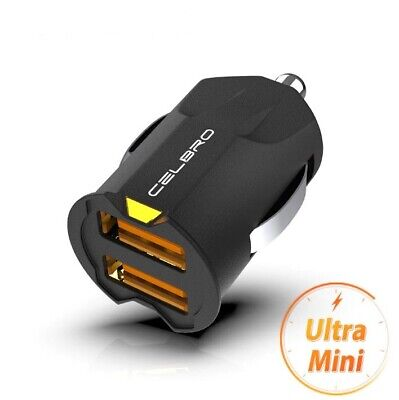 Mini USB Car Charger Adapter 2.1A Fast Charger for iPhone Samsung Huawei Xiaomi