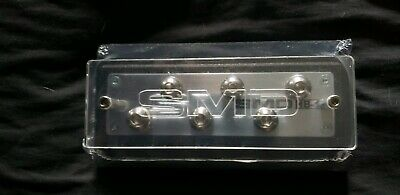 Steve Meade SMD 6 Spot Distribution Block Heavy Duty Stainless Aluminum