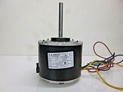 NEW! AO SMITH 1/8 HP Direct Drive Blower Motor, Permanent Split Capacitor, 1050