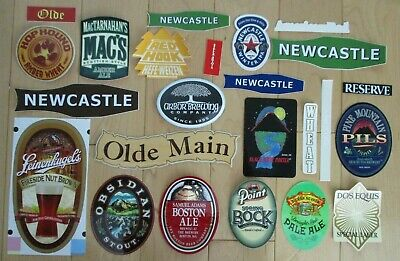 25 BEER STICKER PACK LOT decal craft beer brewing brewery tap handle X