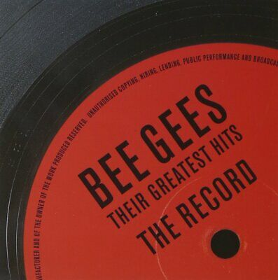 The Bee Gees (2 CD Set) Greatest Hits (The Very Best Of) Stayin Alive, Words, et