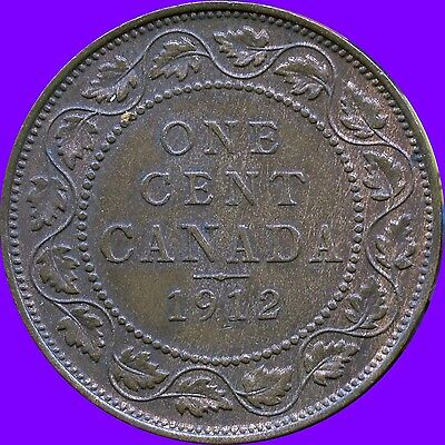 1912 Canada Large Cent Coin