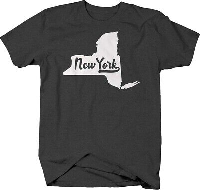 New York state home hometown united states Tshirt for Men