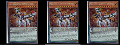 3X All-Eyes Phantom Dragon	BLHR-EN043 -Secret Rare-	Battles of Legend: Hero's Re