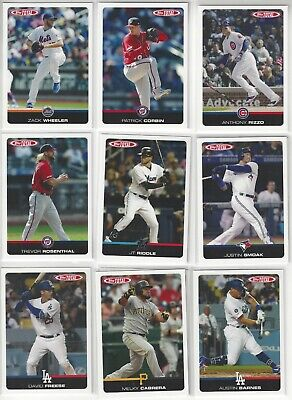 2019 Topps Total pick your cards Wave 1 Wave 2 Wave 3