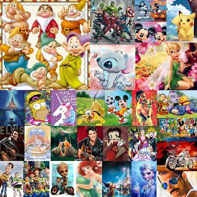 Characters 5D Diamond Painting Embroidery Cross Craft Stitch Art Cartoon Deco 6J