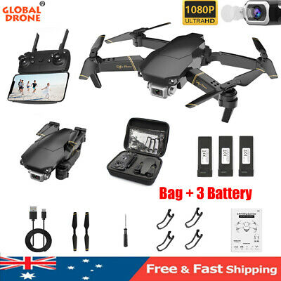 Drone X Pro 5G Wifi FPV Drone With 1080P HD Camera Foldable Quadcopter + Bag