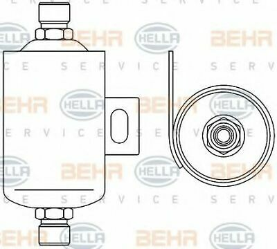 Hella AIR CONDITIONING RECEIVER - DRIER 8FT 8FT351192-491 OE 1321891