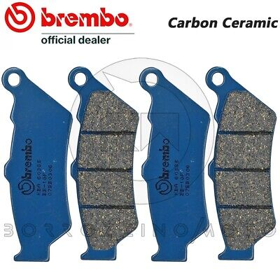 4 Pastiglie Freno Anteriori Brembo Carbon Ceramic 07Bb0306 Bmw F 800 Gs 2009