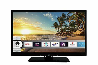 Bush ELED22FHDS 22 Inch Full HD 1080p Smart WiFi LED TV - Black.
