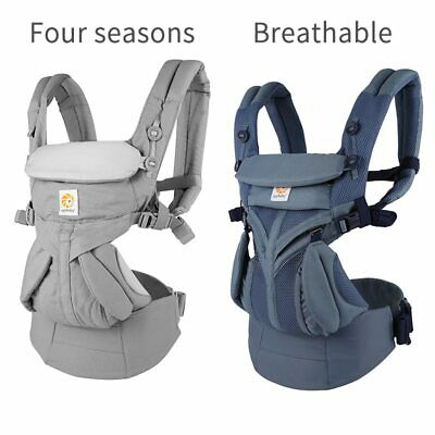 Multifunction 360 Ergonomic Baby Carrier Backpack Breathable Safe Infant Newborn