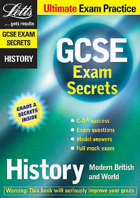 anon, GCSE Exam Secrets: History (GCSE Micro Revision S.), Paperback, Very Good