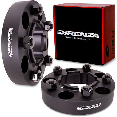 DIRENZA 5x165 40mm HUBCENTRIC WHEEL SPACER PAIR FOR LAND RANGE ROVER DISCOVERY 1
