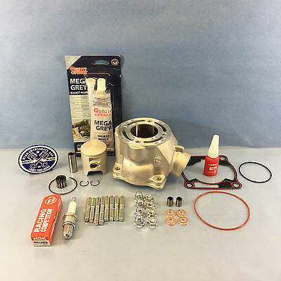 Neuf Yamaha YZ85 Embout Haut Reconstruction Kit Cylindre Piston Joint Boulons