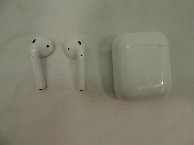 Apple AirPods Wireless Earbuds - White ~!