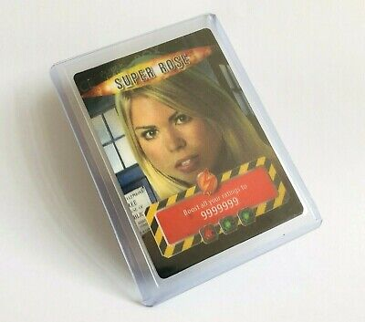 Dr Doctor Who Battles In Time 3D Super Rose Trading Card 2007 - Very Rare