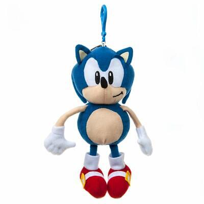 Official Sonic The Hedgehog Quality Soft Toy Plush Zipped Coin Purse Keyring