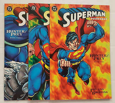 SUPERMAN: DOOMSDAY - mini di 3 completa - Dc Comics - in inglese