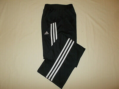 ADIDAS BLACK WWHITE Stripes Athletic Pants Womens Medium