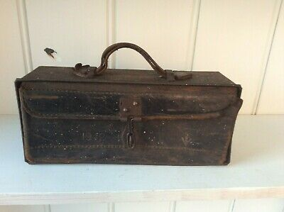 WW2 BRITISH ARMY MOTORCYCLE BICYCLE TOOL SPARES BOX 1942 BSA Brough Superior