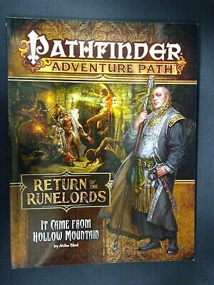 OEJ ~ Pathfinder Adventure ~ Return of the Runelords ~ From Hollow Mountain