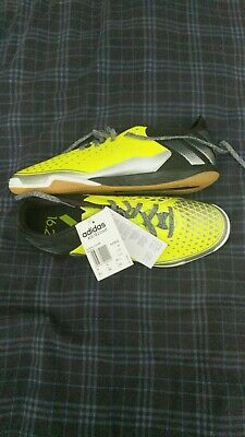 9919a77da adidas Ace 16.2 Court Indoor Football Shoes Men Yel/Blk Futsal Trainers.