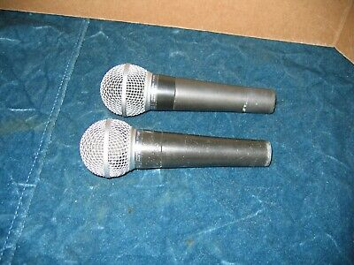 Shure SM58 Dynamic Vocal Microphone Lot  #1