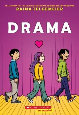 Drama, Paperback by Telgemeier, Raina, Brand New, Free shipping in the US