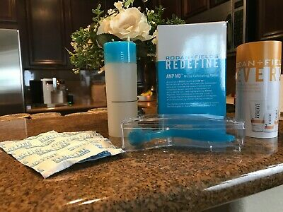 Rodan & Fields Amp Md Micro Exfoliating Roller Tablets Cleansing Vial Pre-Owned