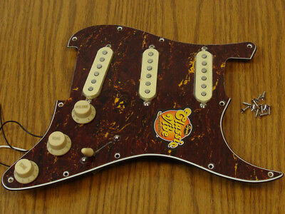 Fender Squier 60s Strat LOADED PICKGUARD Stratocaster Guitar Prewired Tortoise