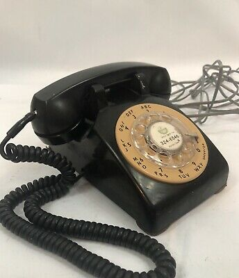 Vintage Bell System Western Electric Rotary Dial Phone
