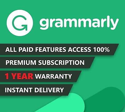 Instant Delivery | Grammarly ⭐Premium⭐ | 12 Months + Warranty | Insane Discount