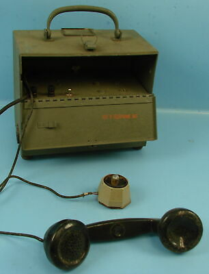 Vtg Western Electric Bell Systems US Military Telephone Set Model 331-A