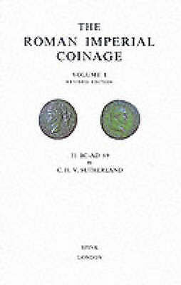 Roman Imperial Coinage Volume 1 by Sutherland, CHV, NEW Book, FREE & FAST Delive