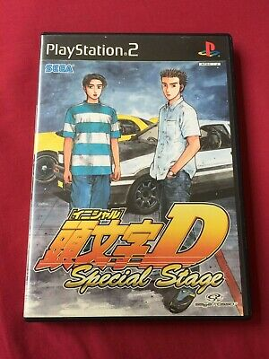 PS2 INITIAL D Special Stage 2003 SEGA playstation 2 game FREE POSTAGE