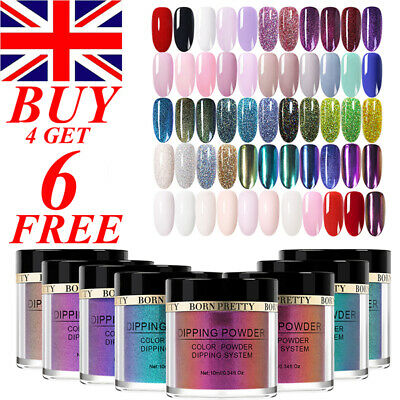 BORN PRETTY 10ml Nail Dip Dipping Powder French Natural Dry Nail Art Starter Kit